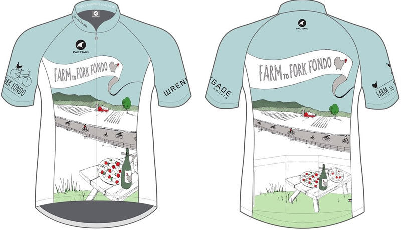 Farm to Fork Fondo Cycling Jersey