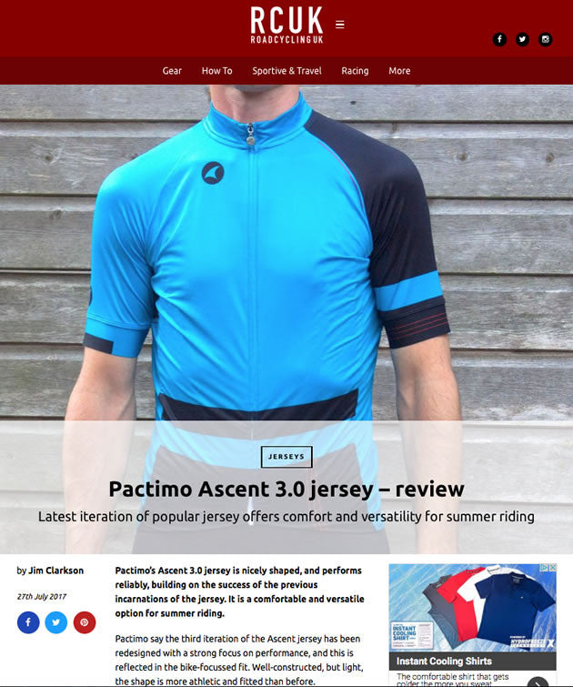 RCUK Pactimo Ascent 3.0 Jersey Review