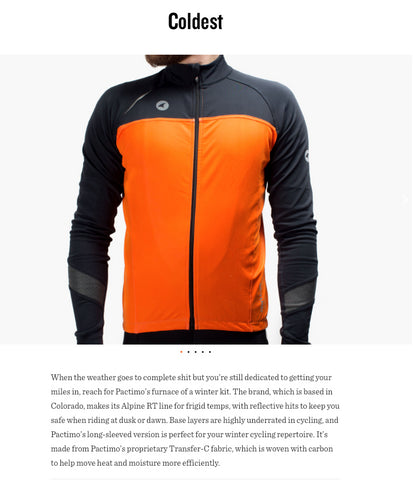 Pactimo Alpine RT Thermal Jersey Review