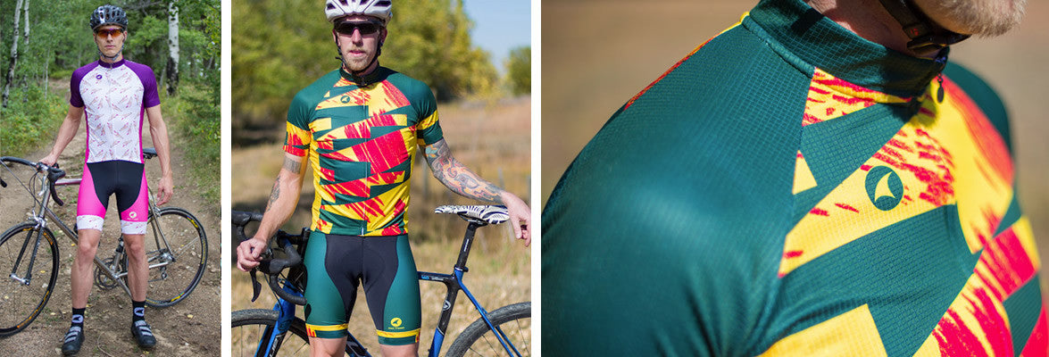 Unique cycling jerseys and bibs for men and women - Matthew Burton