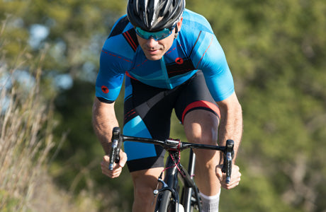 Ascent Climber's Cycling Jersey and Bibs for Men