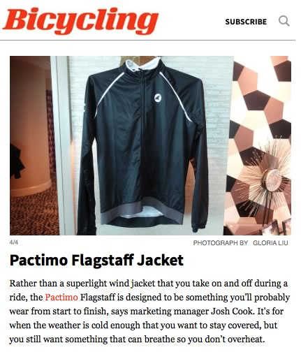 Bicycling Pactimo Reflective Jacket Review