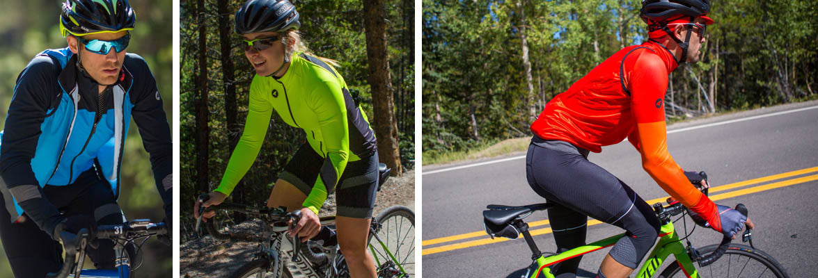 Cool Weather Cycling Clothing for Men & Women