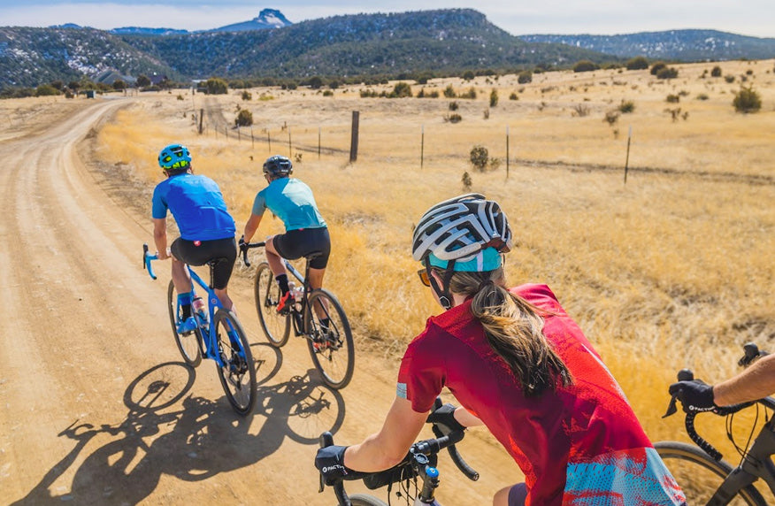 Tips for Riding a Road Bike on Dirt