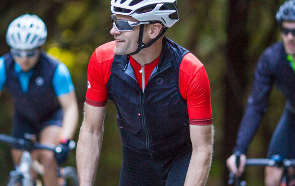 Divide Packable Wind Cycling Vest