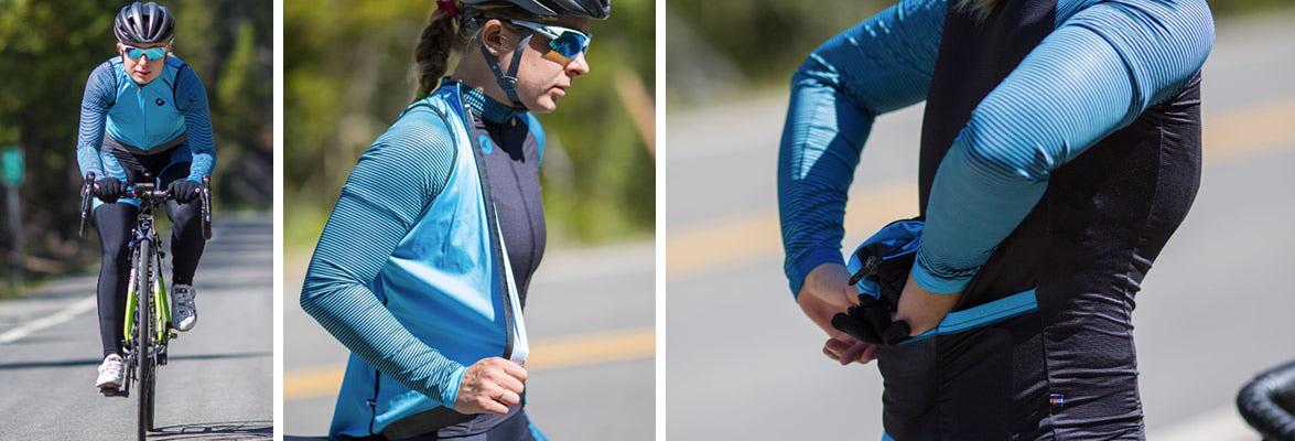 Packable Fall Cycling Accessories for Men and Women