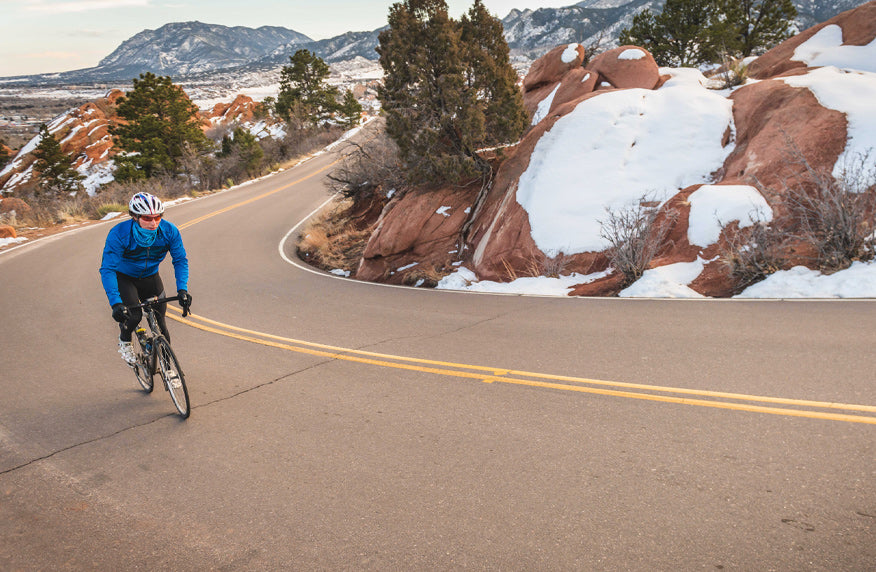 Cycling Garden of the Gods, Colorado Springs, Colorado