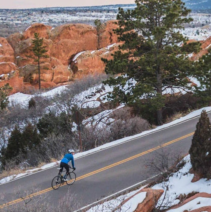Riding Garden of the Gods - Colorado Cycling