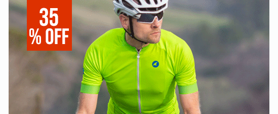 35% off Men's Cycling Jersey