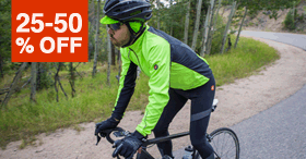 25-50% Off Men's Cycling Outerwear & Thermals