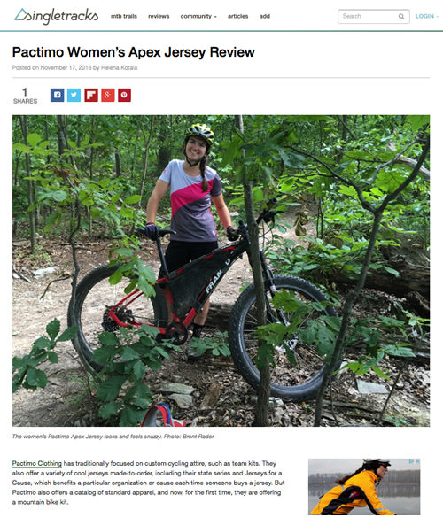 Singletracks.com MTB clothing review