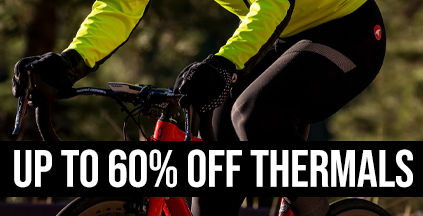 Up to 60% Off Cycling Thermals