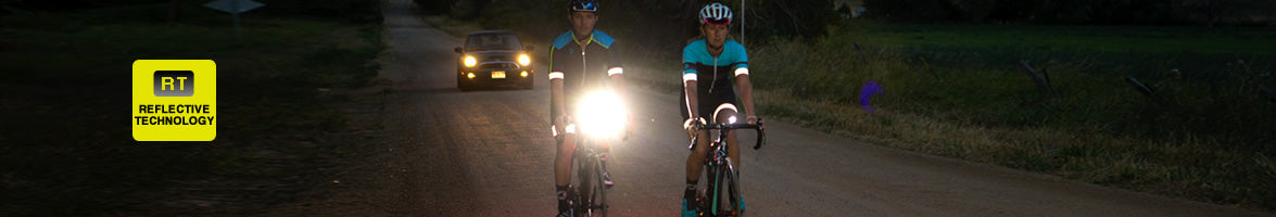 Reflective Cycling jersey, bibs, shorts and jackets