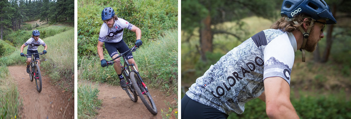 Colorado Themed Cycling Clothing For Men Women Pactimo