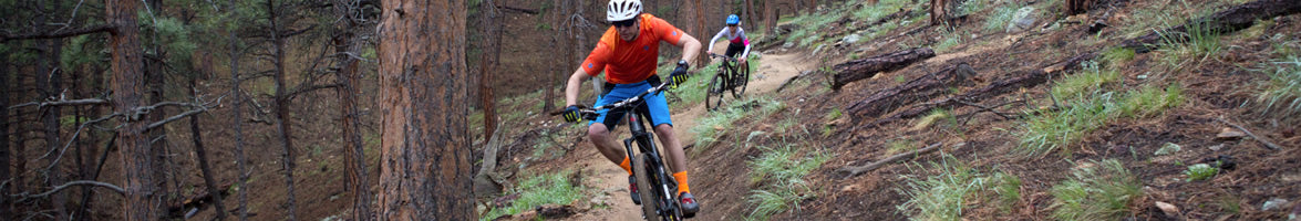 Mountain Biking jerseys and shorts