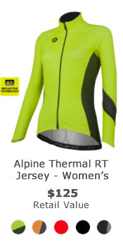 Win a thermal reflective cycling kit