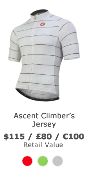 Win an Ascent Climber's Cycling Jersey