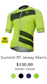 Win a reflective cycling jersey