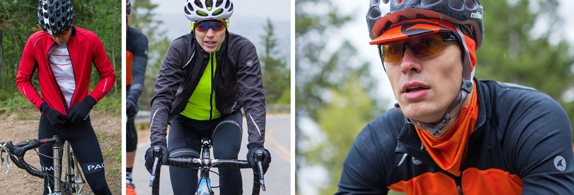 Winter cycling clothing for men and women
