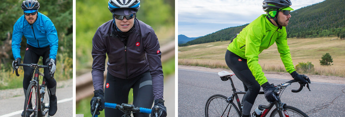 Frigid Weather Cycling Clothing Collection