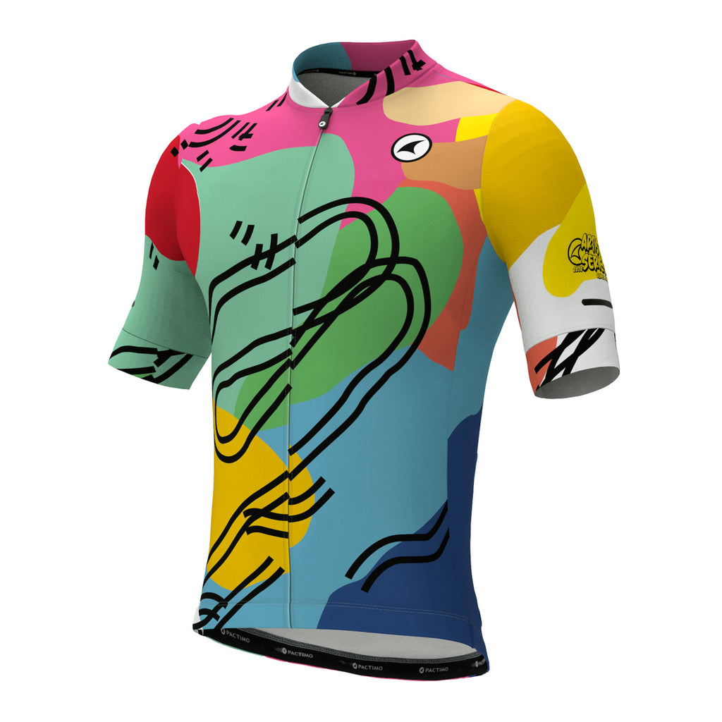 Ascent (Traditional) Cycling Jersey for Men