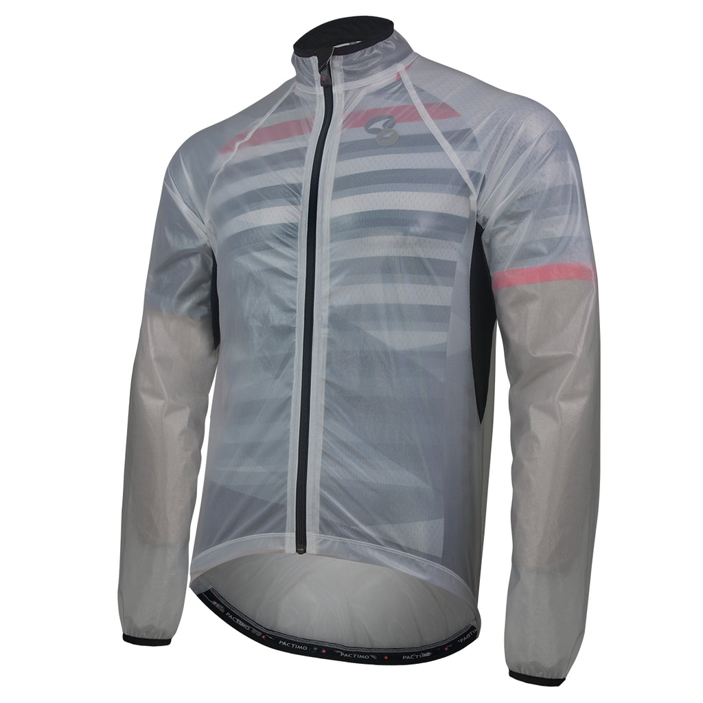 FDX Mens Waterproof Cycling Jacket Breathable Lightweight Running Coat