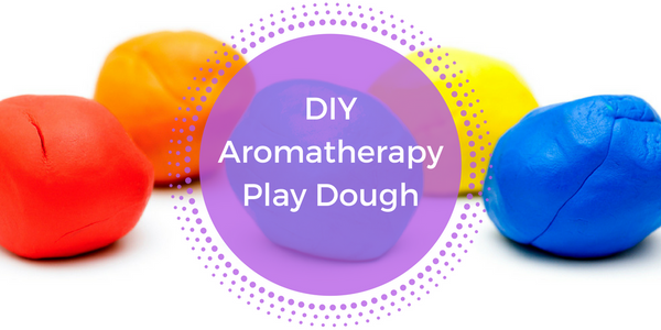 Easy Aromatherapy Play Dough Recipe