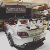 325mm solid stands for Voltex GT wings [EVO/STI/etc] - Aerogenics