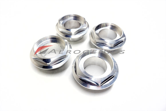 Aerogenics Billet Hex Caps for BBS RS - Aerogenics