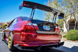Aerogenics 325mm stands for Voltex GT wings [EVO/Subaru/etc] - Aerogenics