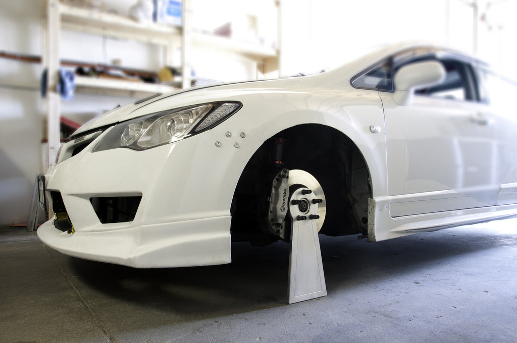 Billet Wheel Stand For Car Shows Aerogenics - Car show wheel stands