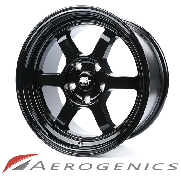 Offroad MST Wheels - Gloss Black / 16x8 +20