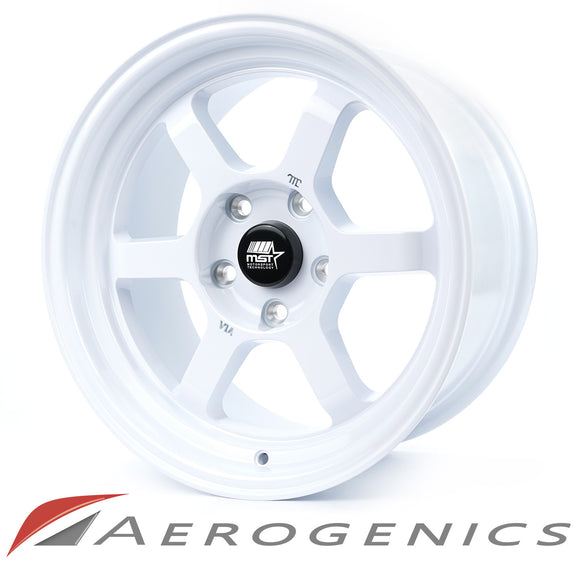 Offroad MST Wheels - Gloss White / 16x8 +20