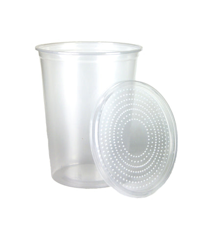 Insect Cup & Lid (32 oz) $.50 Supplies - USMantis