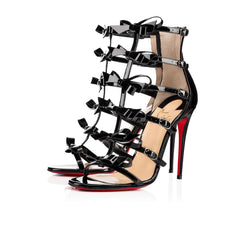 CHRISTIAN LOUBOUTIN GIRLYSTRAPPI BOW 100MM