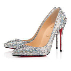 CHRISTIAN LOUBOUTIN FOLLIE SPIKES 100