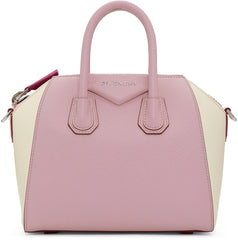 GIVENCHY PINK AND OFF WHITE ANITGONA MINI