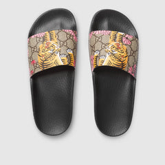 GUCCI BENGAL SLIDES SIZE 40