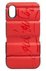CHRISTIAN LOUBOUTIN RED RUNNER IPHONE X/XS CASE ACCESSORIES | LuxurySnob authentic Louboutin shoes second hand, second hand Christian Louboutin, pre owned red bottom shoes