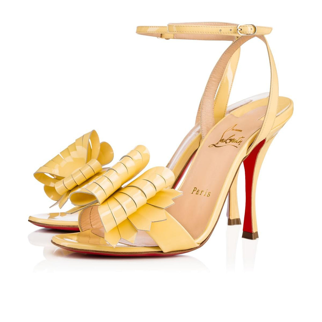 CHRISTIAN LOUBOUTIN MISS VALOIS 100mm SIZE 38