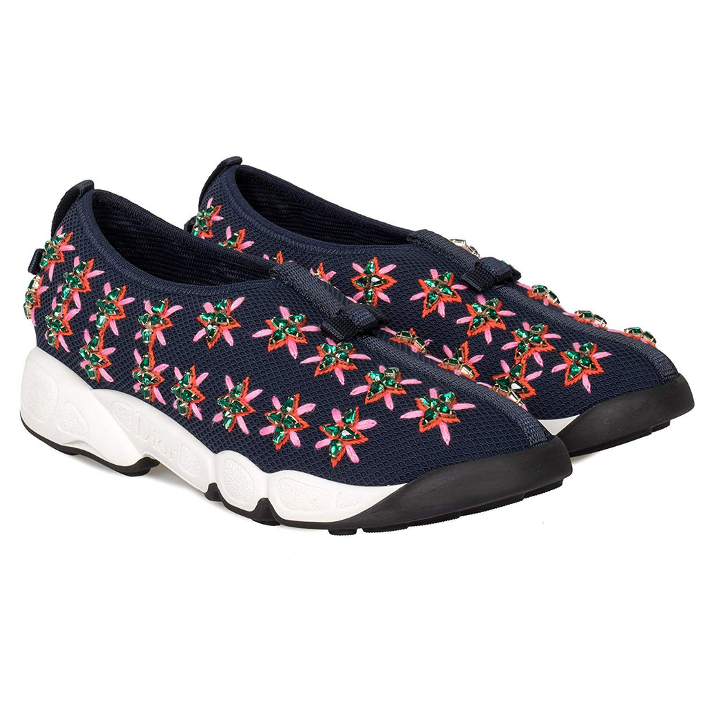 CHRISITAN DIOR FUSION FLOWER SNEAKERS SIZE 37 SNEAKERS | LuxurySnob: pre owned luxury handbags, authentic designer goods second hand, second hand luxury bags, gently used designer shoes