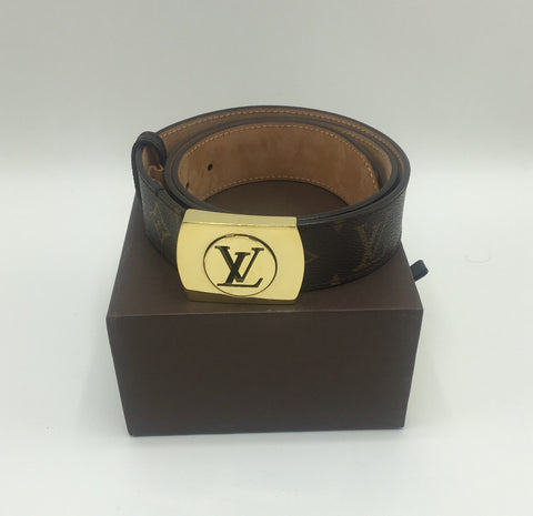 LOUIS VUITTON BELT SIZE 80/32