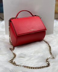 GIVENCHY PANDORA BOX MINI CHAIN BAG