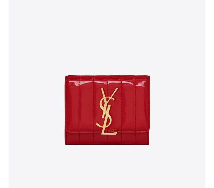 YSL VICKY SMALL MATELASSÈ WALLET ACCESSORIES | LuxurySnob: pre owned luxury handbags, authentic designer goods second hand, second hand luxury bags, gently used designer shoes