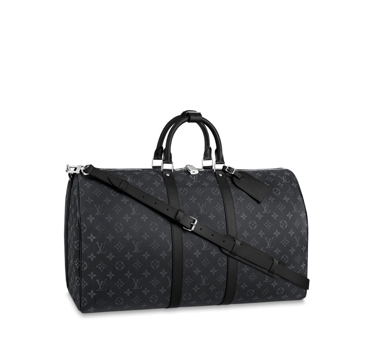 Louis Vuitton Monogram Eclipse Canvas Bandouliere 55