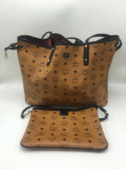 MCM TOTE WITH POUCH