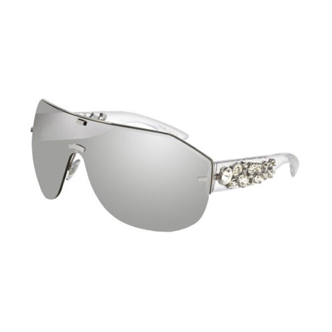 DOLCE & GABBANA MIRROR SHIELD SUNGLASSES