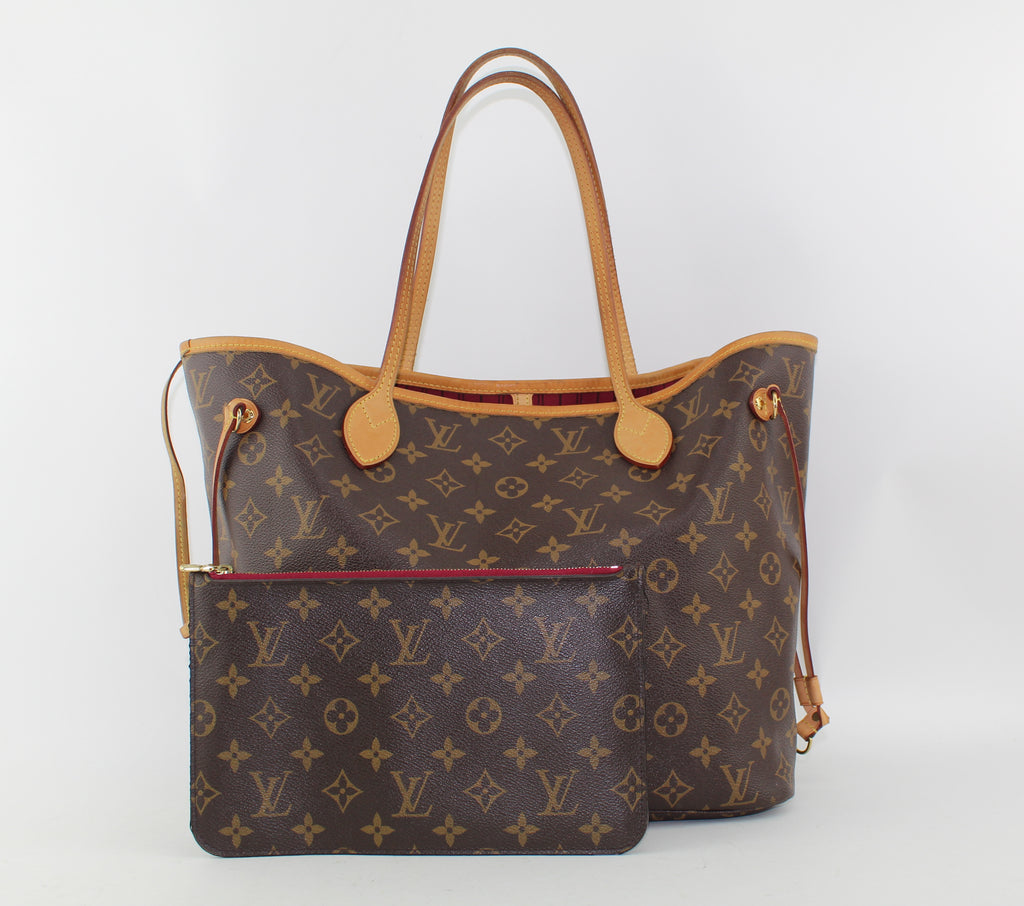 LOUIS VUITTON NEVERFULL MM TOTE | LuxurySnob: pre owned luxury handbags, authentic designer goods second hand, second hand luxury bags, gently used designer shoes