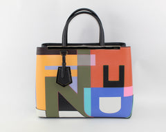 FENDI 2JOURS DISORDERE MEDIUM TOTE