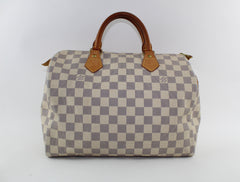 LOUIS VUITTON SPEEDY 30 HANDBAGS | LuxurySnob authentic Louis Vuitton resale, buy and sell second hand Louis Vuitton, gently used Louis Vuitton